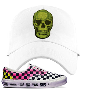Vans Era Venice Beach Pack Dad Hat | White, Skull