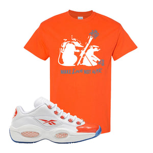 Question Low Vivid Orange T-Shirt | Army Rats, Orange