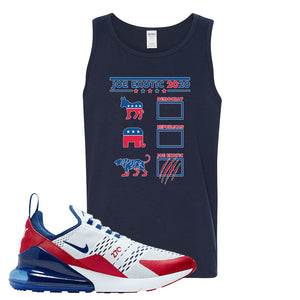 Air Max 270 USA Tank Top | Navy Blue, Exotic Ballot