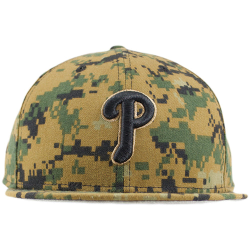 timeless design 8fb92 24307 Philadelphia Phillies 2016 Memorial Day Digital Camouflage Fitted Cap