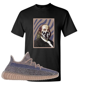 Yeezy Boost 350 V2 Fade T-Shirt | Franklin Mask, Black