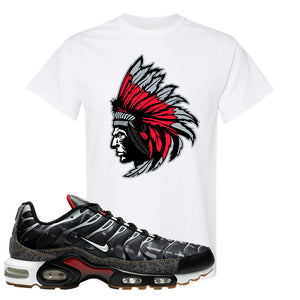 Air Max Plus Remix Pack T Shirt | Indian Chief, White