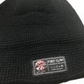 branding Black  Waffle Knit Beanie | fisherman's beanie for embroidery | Brand start up