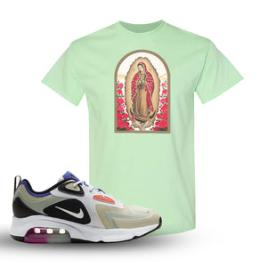 Air Max 200 WMNS Fossil Sneaker Mint Green T Shirt | Tees to match Nike Air Max 200 WMNS Fossil Shoes | Talk Is Cheap
