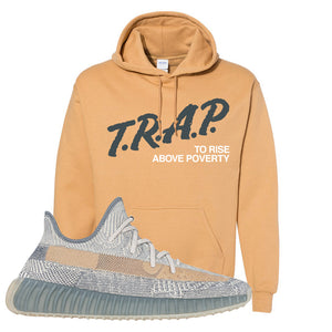 Yeezy Boost 350 V2 Israfil Hoodie | Old Gold, Trap To Rise Above Poverty