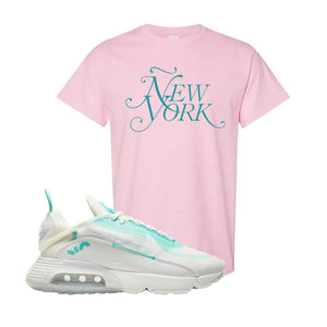 Air Max 2090 Pristine Green T Shirt | Light Pink, New York