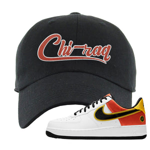 Air Force 1 Low Roswell Rayguns Dad Hat | Chiraq, Black