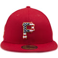 Pittsburgh Pirates 4th of July 59Fifty Scarlet Red Fitted Cap