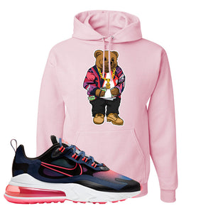 Air Max 270 React WMNS Storm Pink Pullover Hoodie | Sweater Bear, Light Pink