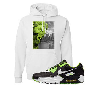 Air Max 90 Exeter Edition Black Hoodie | Miguel, White