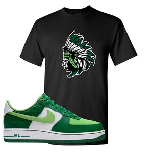 Air Force 1 Low St. Patrick's Day 2021 T Shirt | Indian Chief, Black