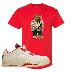 Air Jordan 5 Low Chinese New Year 2021 T Shirt | Sweater Bear, Red