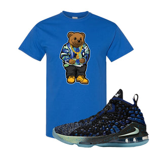 LeBron 17 Constellations T Shirt | Sweater Bear, Royal Blue