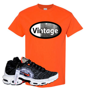Air Max Plus Supernova 2020 T Shirt | Orange, Vintage Oval