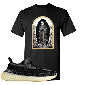 Yeezy Boost 350 v2 Carbon T Shirt | Virgin Mary, Black