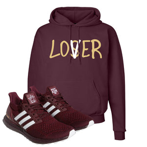 Ultra Boost 1.0 Texas A&M Hoodie | Lover, Maroon