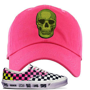 Vans Era Venice Beach Pack Dad Hat | Pink, Skull