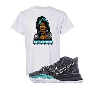 Kyrie 7 Pre Heat T-Shirt | Oh My Goodness, Ash