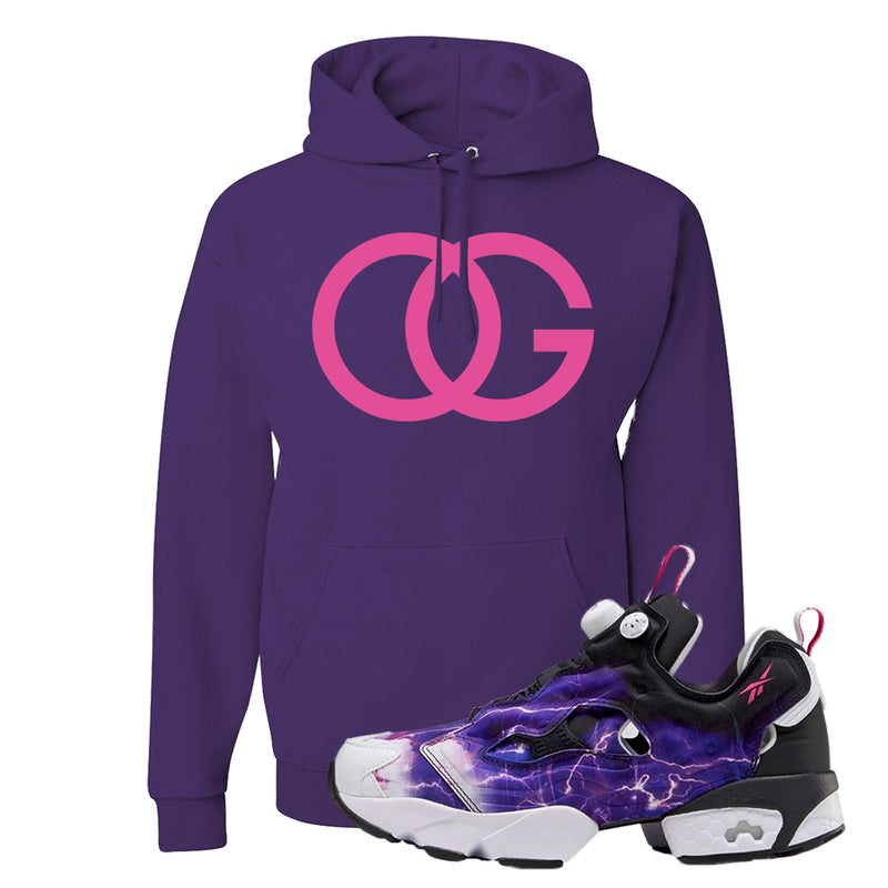 Instapump Fury OG Purple Legion of Fury Hoodie | OG, Deep Purple