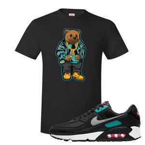 Air Max 90 Black New Green T Shirt | Sweater Bear, Black