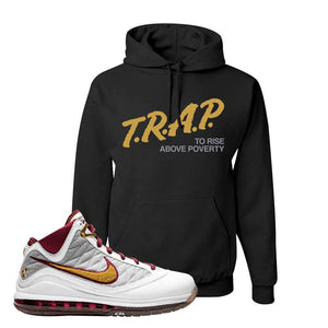 LeBron 7 MVP Hoodie | Black, Trap To Rise Above Poverty