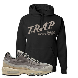 Air Max 95 SE ACG Hoodie | Trap To Rise Above Poverty, Black