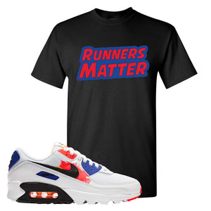 Air Max 90 Paint Streaks T-Shirt | Runners Matter, Black