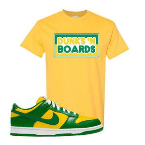 SB Dunk Low Brazil  T Shirt | Daisy, Dunks N Boards