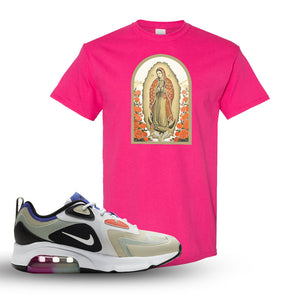 Air Max 200 WMNS Fossil Sneaker Heliconia T Shirt | Tees to match Nike Air Max 200 WMNS Fossil Shoes | Virgin Mary