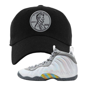 Lil Posite One Rainbow Pixel Dad Hat | Black, Penny