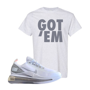 Air Max 720 Utility White T Shirt | Ash, Got Em