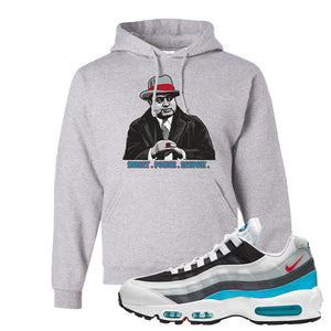 Air Max 95 Red Carpet Hoodie | Capone Illustration, Gravel