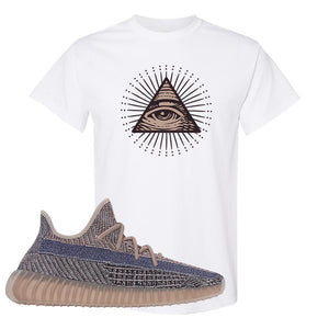 Yeezy Boost 350 V2 Fade T-Shirt | All Seeing Eye, White
