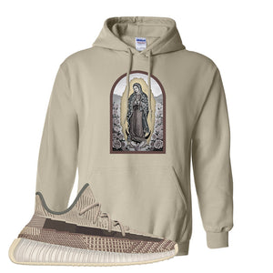 Yeezy 350 v2 Zyon Hoodie | Sand, Virgin Mary