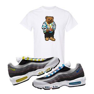 Air Max 95 QS Greedy T Shirt | White, Sweater Bear