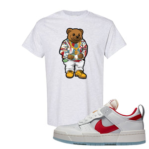 Dunk Low Disrupt Gym Red T Shirt | Sweater Bear, Ash