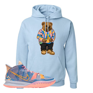 Kyrie 7 Expressions Hoodie | Sweater Bear, Light Blue