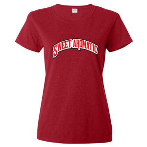 Backwoods Sweet Aromatic Red Women's T-Shirt