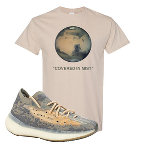 Yeezy 380 Mist T Shirt | Sand, Covered In Mist