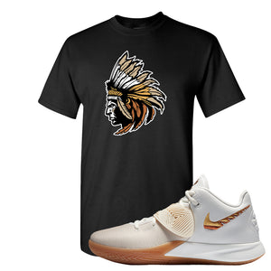 Kyrie Flytrap 3 Summit White T Shirt | Indian Chief, Black