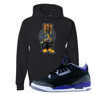 Air Jordan 3 Court Purple Hoodie | Sweater Bear, Black