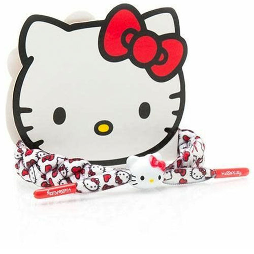 Rastaclat x Sanrio Hello Kitty White Braided Shoelace Bracelet
