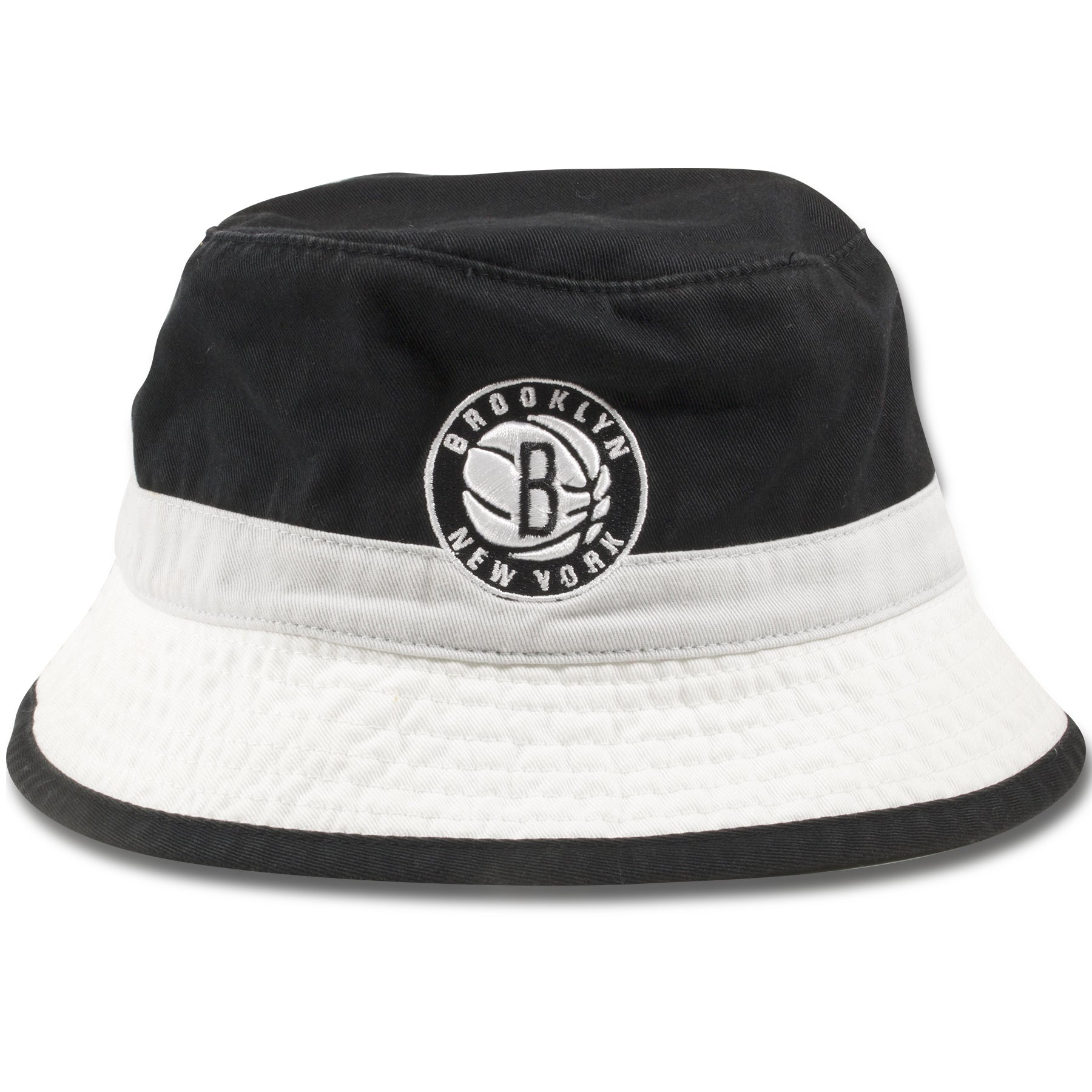 2d66d766 Brooklyn Nets Mitchell and Ness Striped Retro Bucket Hat – Cap Swag