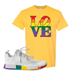 NMD R1 Pride T Shirt | Daisy, Love Park
