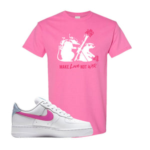 Air Force 1 Low Fire Pink T Shirt | Azalea, Army Rats