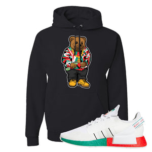 NMD R1 V2 Ciudad De Mexico Hoodie | Black, Sweater Bear