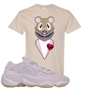 Yeezy 500 Soft Vision Yeezy Sneaker Mask Sand Sneaker Hook Up T-Shirt