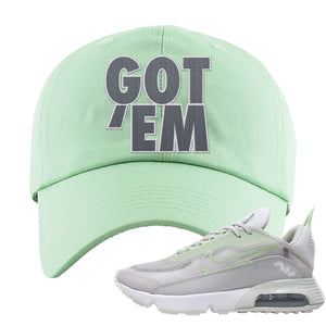 Air Max 2090 'Vast Gray' Dad Hat | Sage Green, Got Em