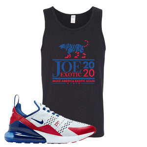 Air Max 270 USA Tank Top | Black, Joe Exotic 2020