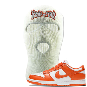 SB Dunk Low Syracuse Ski Mask | White, Trap Star